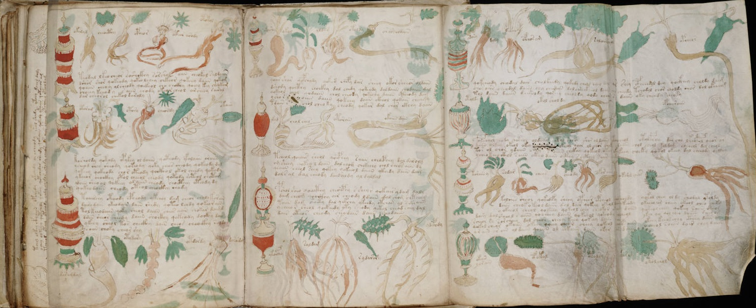 Voynich Manuscript | Gramaticas y Textos de las Grandes Culturas